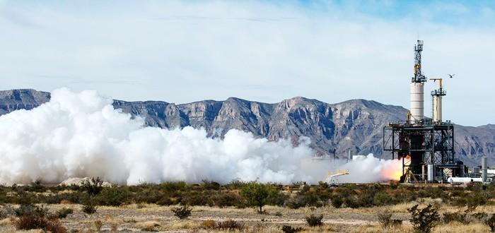 Ракета Blue Origin совершила вертикальную управляемую посадку