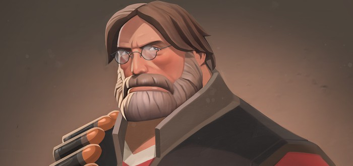 Новый мод Team Fortress 2 наделяет Heavy лицом Гейба Ньюэлла