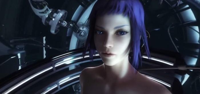 Первое видео интерактивного VR-проекта по Ghost in the Shell