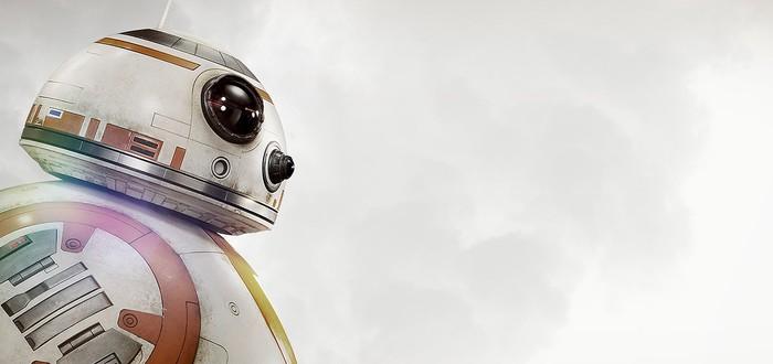 Постер Star Wars: The Force Awakens с BB-8