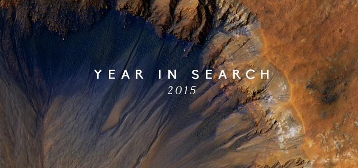 Поисковые запросы Google за 2015 год