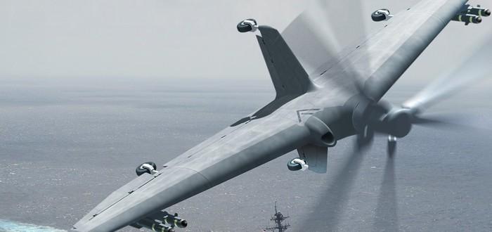 DARPA создает дроны для военно-морских сил США