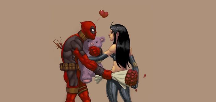 Deadpool: рекламный ролик с розами