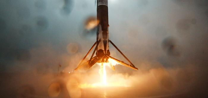Эволюция посадки ракет SpaceX на баржу