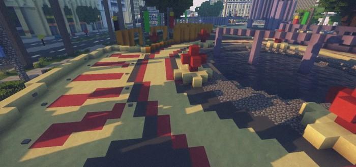 Лос-Сантос из GTA V в Minecraft