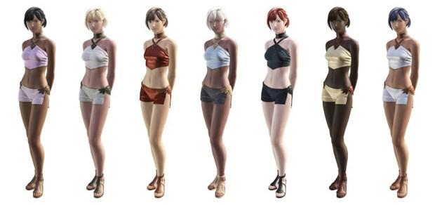 Создание персонажей в Final Fantasy XIV (Новые скриншоты)