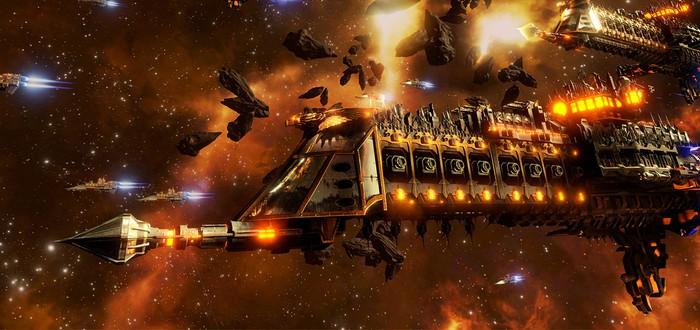 Сюжетный трейлер Battlefleet Gothic: Armada