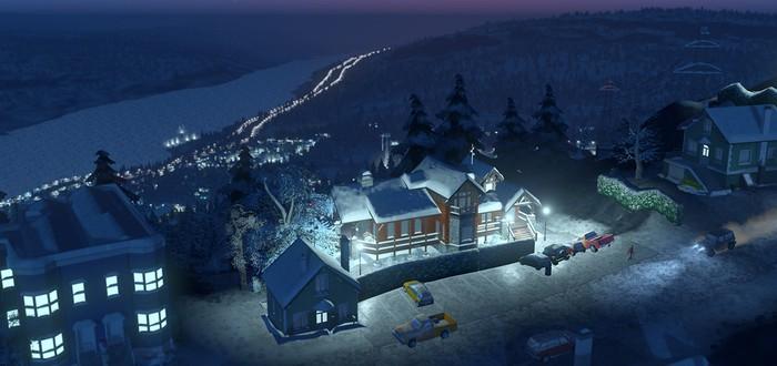 Снежное дополнение Cities Skylines выйдет через две недели