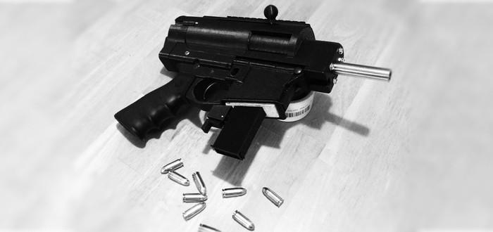 На 3D-принтере напечатали полу-автоматическое оружие