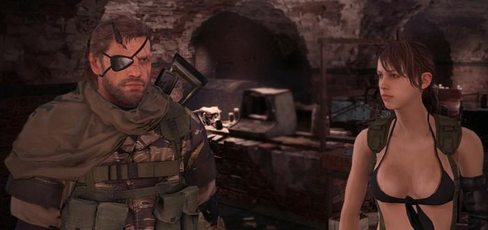 Мод Fallout 4 позволяет играть за Снейка и Тихоню