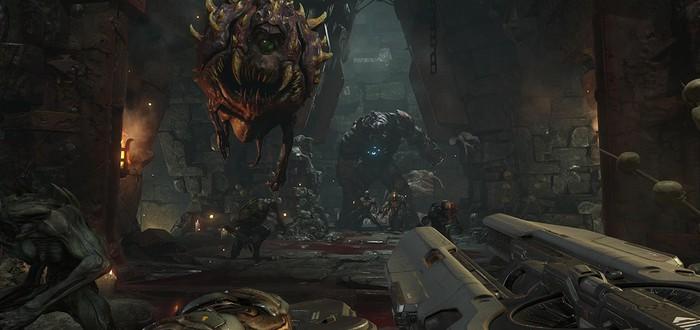 Новый геймплей Doom на шоу Конана