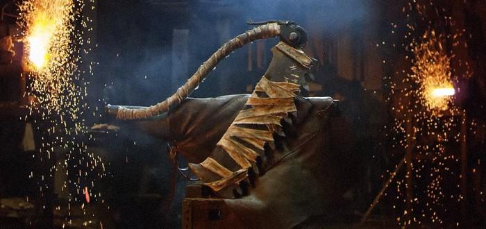 Man at Arms выковали пилу-топор из Bloodborne