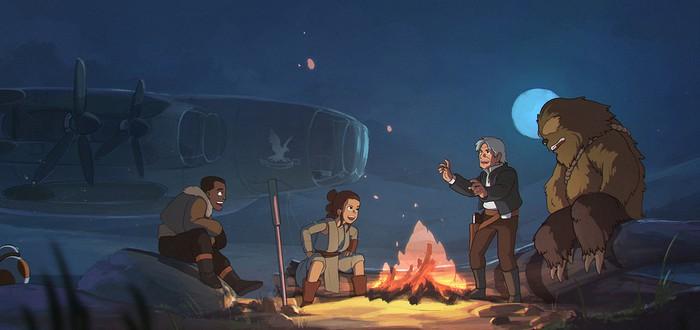 Star Wars глазами Ghibli