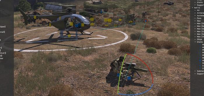 Видео-дневник Arma 3: Редактор Eden 3D