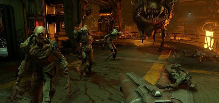 Много деталей геймплея Doom