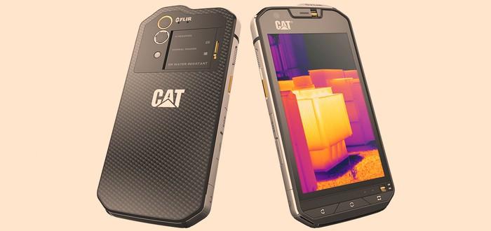 Первый в мире смартфон с тепловизором