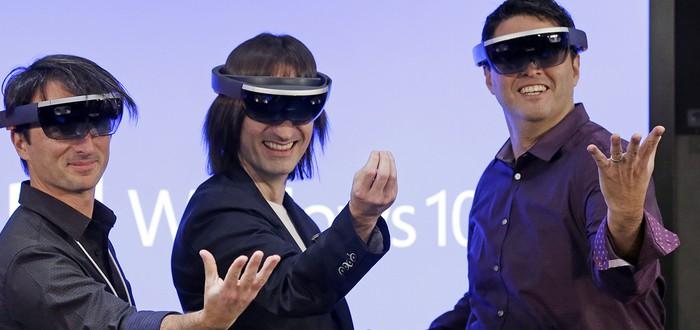 Microsoft не будет выпускать Hololens, чтобы не повторить ошибку Kinect