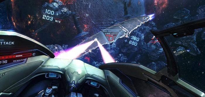 Новый трейлер VR-тайтла EVE: Valkyrie