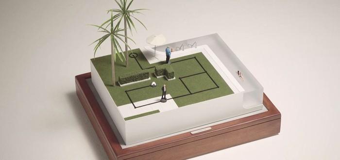 Настольная миниатюра Hitman выглядит очаровательно