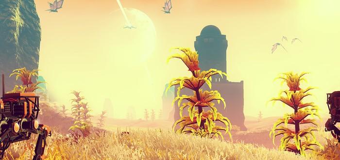 Свежий геймплей No Man's Sky