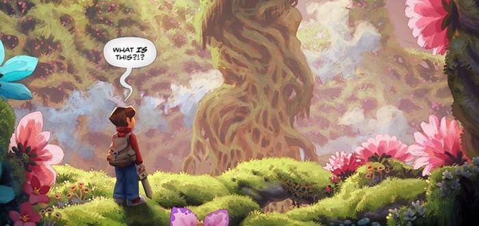 The Wormworld Saga — красивый графический роман