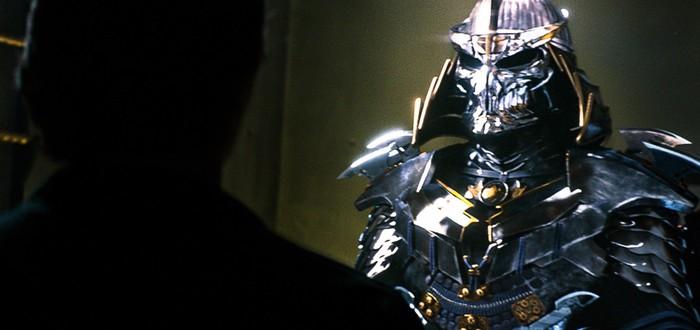 Первый взгляд на костюм Шреддера в TMNT 2
