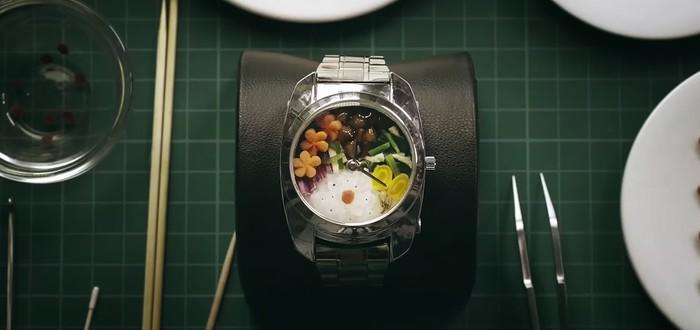 Ох уж эти Японцы: Еда внутри часов