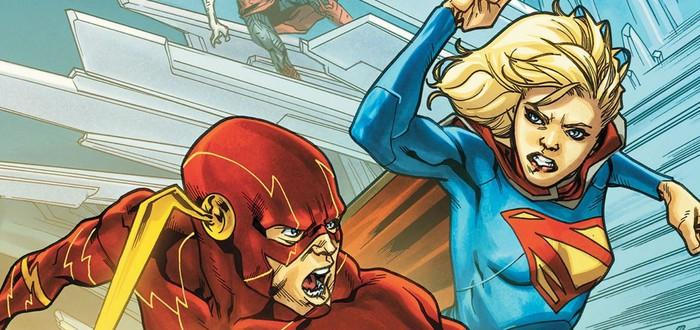 Промо кроссовера сериалов Supergirl и Flash