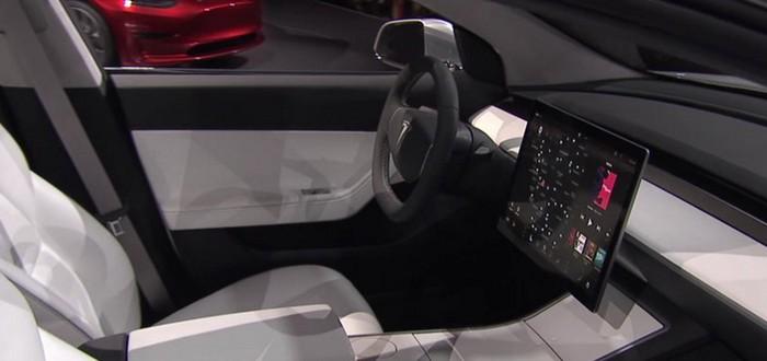 LG будет поставлять экраны для Tesla Model 3
