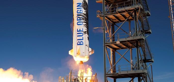 Третий успешный запуск и посадка ракеты Blue Origin