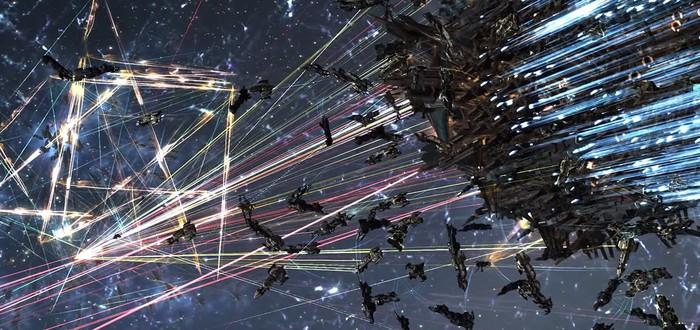 Крупнейшая космическая война EVE