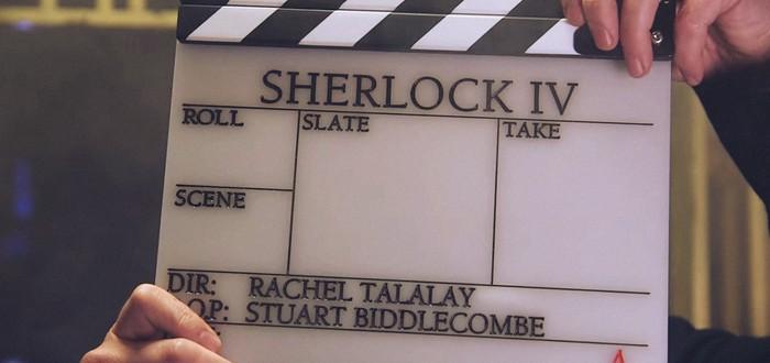 Съемки нового сезона Sherlock стартовали