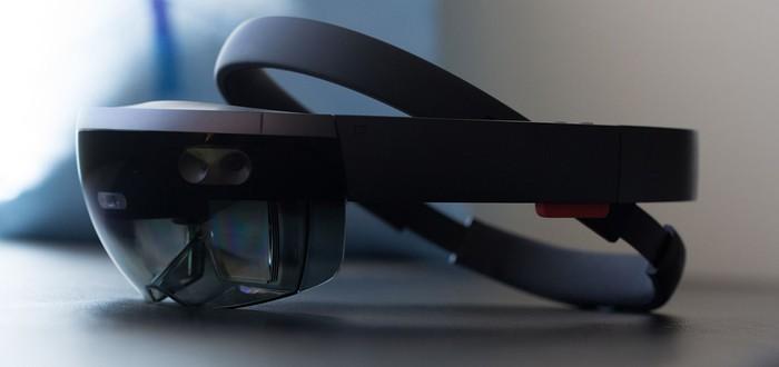 HoloLens в разобранном виде