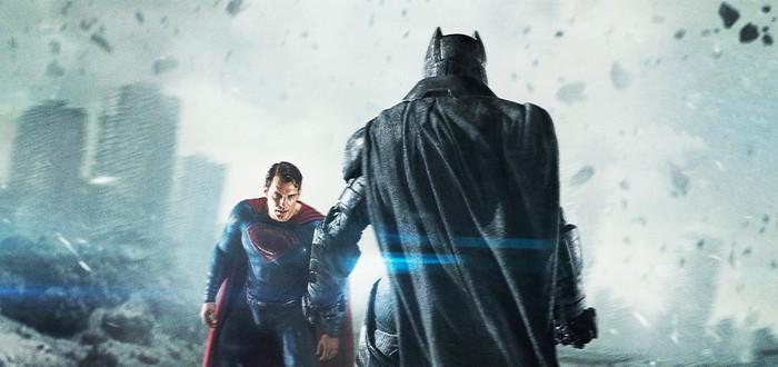 Batman v Superman — до и после графических эффектов