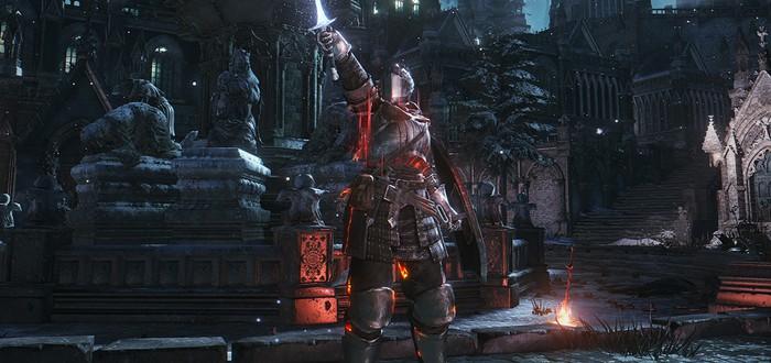 Геймплей Dark Souls 3 с контроллером Steam