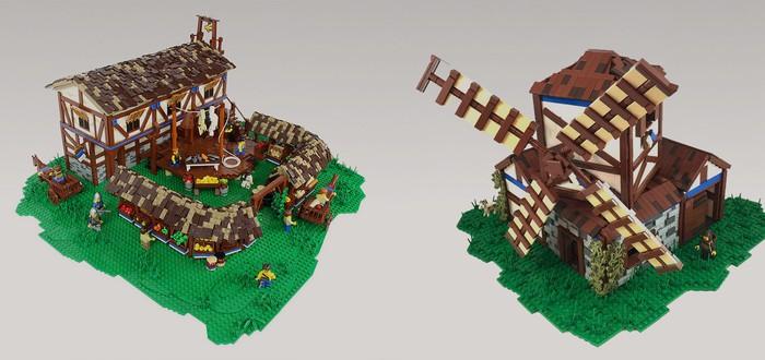 Age of Empires II в виде LEGO