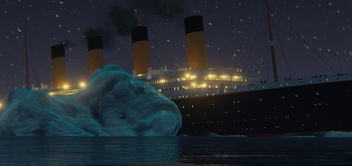 Исторически достоверное видео гибели Титаника
