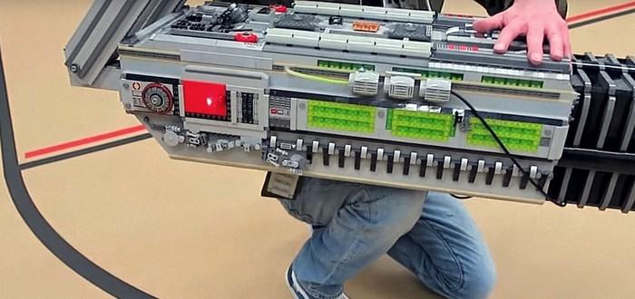 Знакомьтесь, BFG 9000 из LEGO