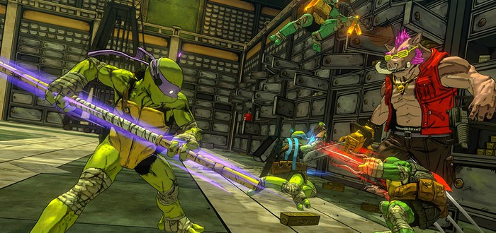 8 минут геймплея TMNT: Mutants in Manhattan на PS4