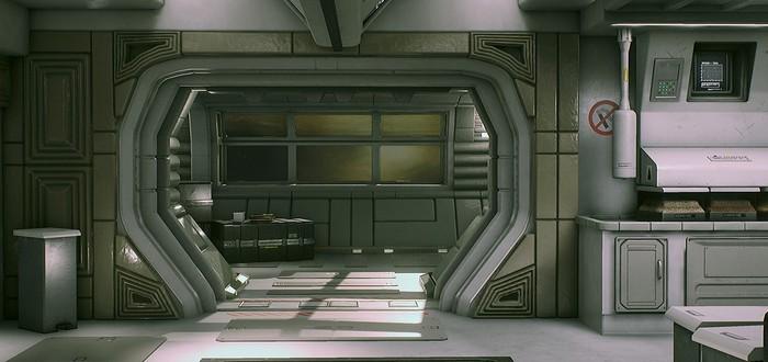 Alien Isolation на движке Unreal Engine 4