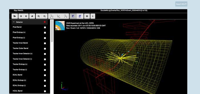 Скачайте 300 Терабайт данных Большого Адронного Коллайдера