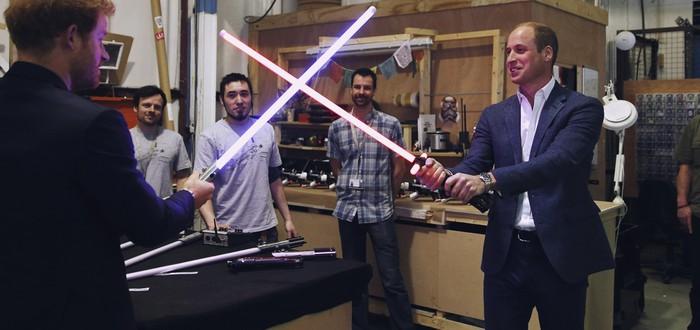 Принцы Уильям и Гарри снимутся в Star Wars: Episode VIII как штурмовики?