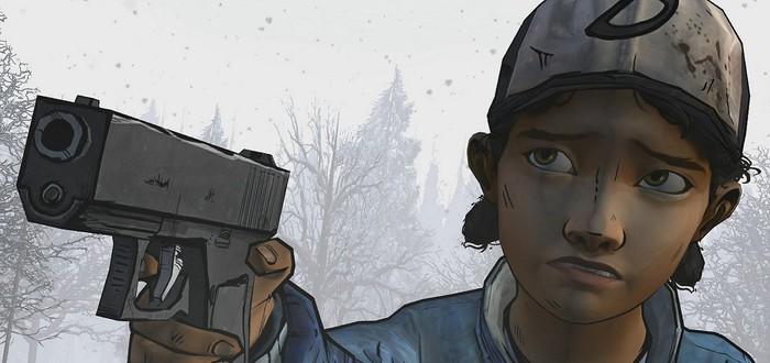 Повзрослевшая Клементина в The Walking Dead: Season 3