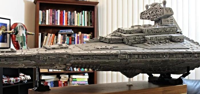 Имперский Звездный Разрушитель из LEGO весом 32 килограмма