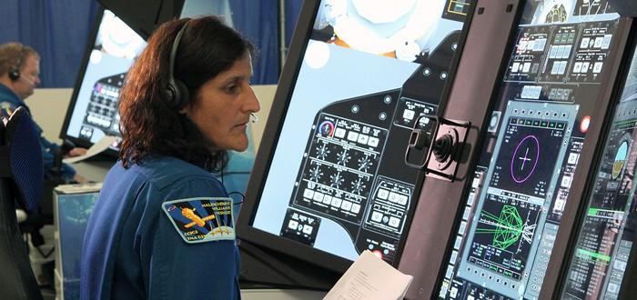 NASA использует огромные сенсорные экраны для тренировки астронавтов