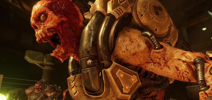 id Software не может пройти Doom на высокой сложности
