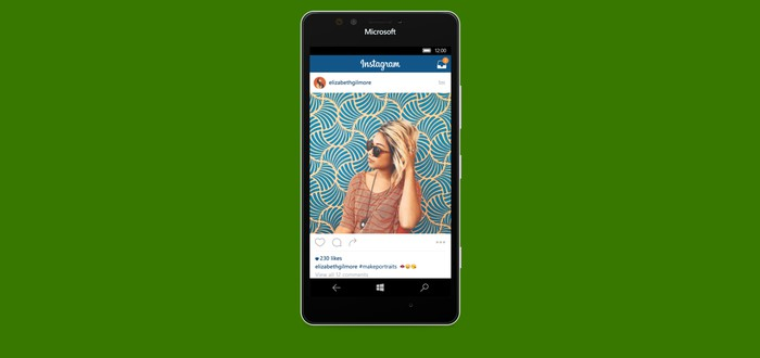 Instagram вышел на Windows 10 Mobile