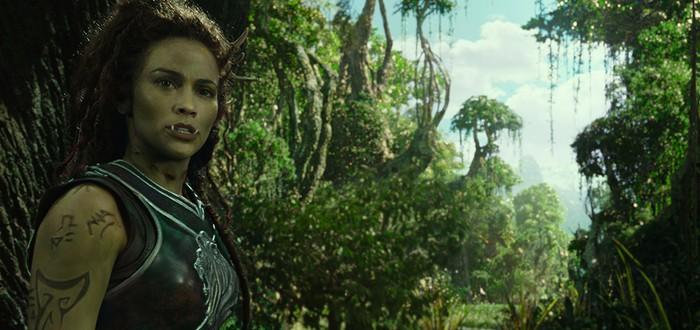 Еще один клип Warcraft — полу-орк Гарона