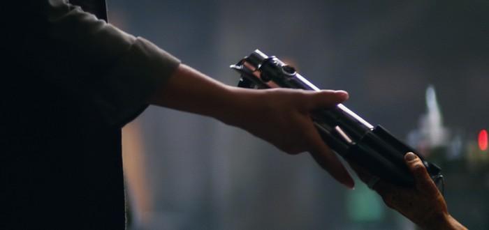 Вырезанная вступительная сцена Star Wars: The Force Awakens
