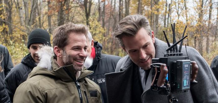 Бэн Аффлек стал исполнительным продюсером Justice League
